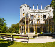 Romantic Chateau,  Hluboka, Czech Republic Royalty Free Stock Images