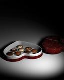Romantic Chocolate. Stock Image