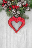 Romantic Christmas Decoration Royalty Free Stock Image