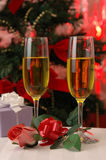 Romantic Christmas Eve royalty free stock image