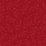Romantic christmas seamless background Stock Photography