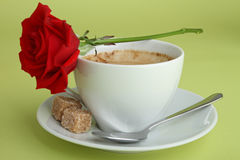 Romantic coffee Stock Photo