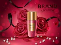 Romantic cosmetic set Stock Photo