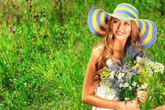 Romantic countryside Royalty Free Stock Photography