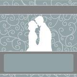 Romantic couple stock illustration
