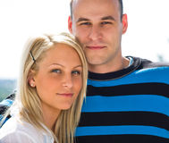 Romantic couple. Royalty Free Stock Photography