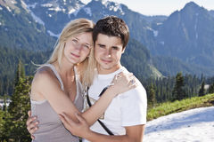 Romantic couple Royalty Free Stock Photo