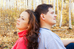 Romantic couple Royalty Free Stock Image