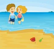 Romantic couple vector illustration