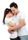 Romantic couple Stock Photos
