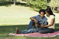 Romantic couple. Royalty Free Stock Images
