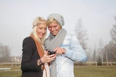 Romantic couple autumn Royalty Free Stock Photos