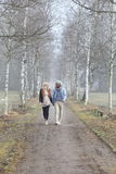 Romantic couple autumn Royalty Free Stock Photo