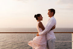 Romantic couple embracing Stock Images