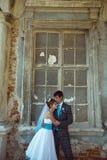 Romantic couple full of love Royalty Free Stock Photo