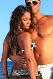 Romantic couple having fun Stock Photography