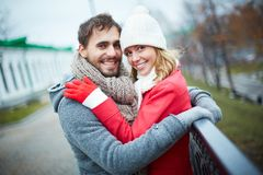 Romantic couple Royalty Free Stock Image