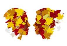 Free Romantic Couple In Love, Autumn. Stock Image - 122636921