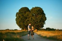 Romantic couple Stock Photography