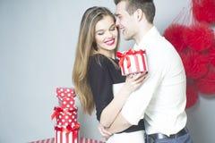 Romantic couple of lovers Stock Image