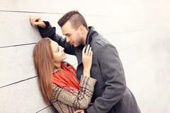 Romantic couple ona date Royalty Free Stock Photo