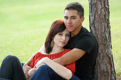 Romantic Couple Outdoors (3) Stock Photos