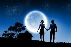 Romantic couple Royalty Free Stock Photography