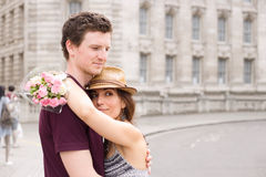 Romantic couple Royalty Free Stock Photography