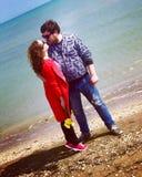 Romantic couple Stock Images