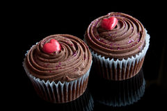 Romantic Cupcakes Royalty Free Stock Images