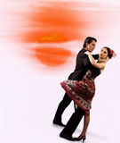 Romantic dance Royalty Free Stock Image