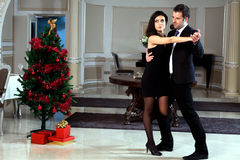 Romantic Dance Royalty Free Stock Images