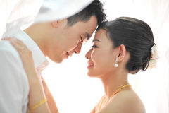 Romantic dance Stock Photos