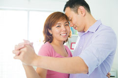 Romantic dance Stock Photo