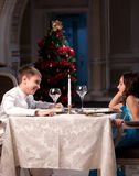 Romantic Date Royalty Free Stock Photo