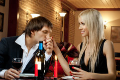 Romantic  date Royalty Free Stock Image