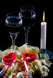 Romantic date stock photos