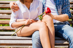 Romantic date. Royalty Free Stock Images