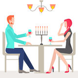 Romantic date, couples in love Stock Photo