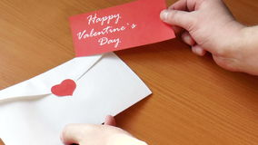 Romantic date. Valentine's day stock footage