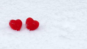 Romantic date. Valentine's day. The video shows footage on the theme of Valentine's Day. Two hearts stock video