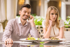 Romantic date Royalty Free Stock Images
