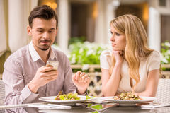 Romantic date Stock Photo
