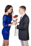 Romantic dating Stock Photography