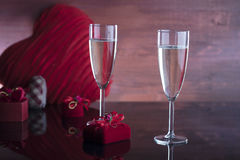 Romantic day concept, Valentine`s day Stock Images