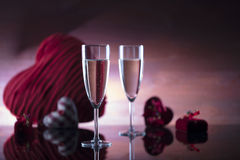 Romantic day concept, Valentine`s day Royalty Free Stock Photography