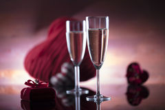 Romantic day concept, Valentine`s day Stock Photography