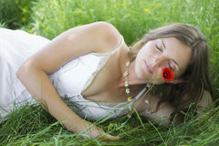 Romantic daydream Stock Photos