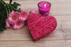 Romantic decoration Stock Photos