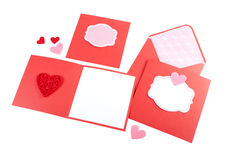 Romantic design set isolated on white. Royalty Free Stock Image